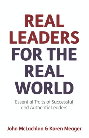 Real Leaders for the Real World book image